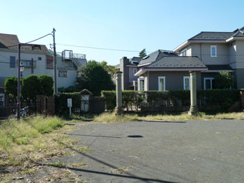 横浜・元町百段公園付近の住宅