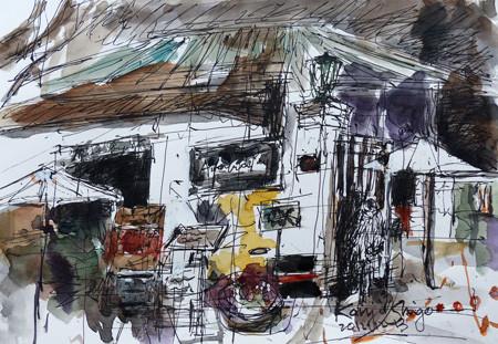横浜・開港資料館のカフェ「Au jardin de Perry (ペリーの庭で)」
