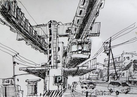鎌倉市・湘南モノレールの西鎌倉駅