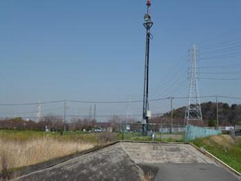 藤沢市・河川の警報装置