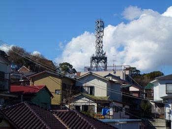 神奈川県・真鶴町の鉄塔