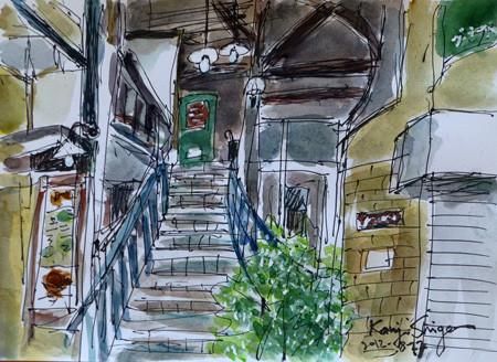 横浜・石川町リセンヌ小路商店街のグランドゥーカ