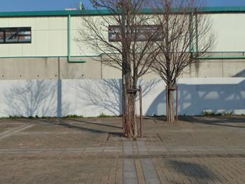 藤沢市・六会日大前駅の駅前広場