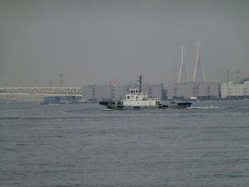 横浜・横浜港のタグボート