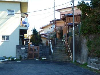 神奈川県・真鶴町のある民家