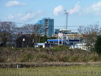 藤沢・湘南ライフタウンのビル工事