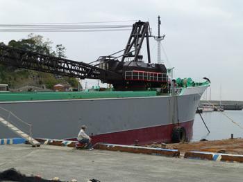 神奈川県・真鶴港のガット船第六豊松丸