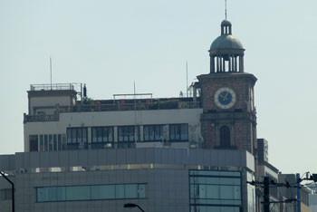 横浜・カサ・デ・アンジェラの時計台