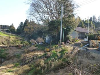 藤沢市・石川のたき火