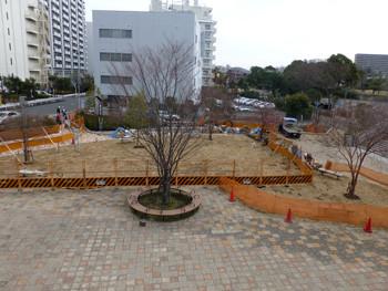 藤沢・奥田公園の拡張工事