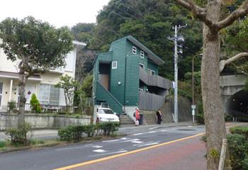 鎌倉・佐助のグリーンの建物