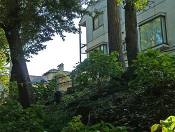 横浜・元町公園界隈の住宅