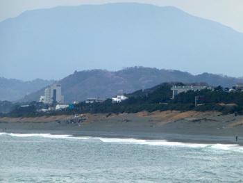 神奈川県・大磯のこゆるぎの浜