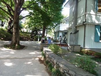 横浜・元町公園のエリスマン邸