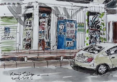 鎌倉・小動のLana store サーフトランクスとアロハの Ka Lipoa