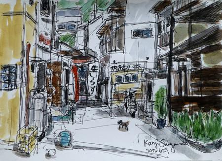 藤沢市・江ノ島の裏通り