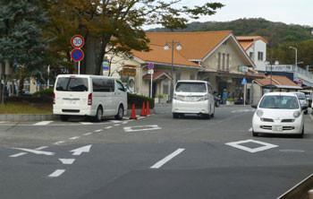 神奈川県・大磯駅舎