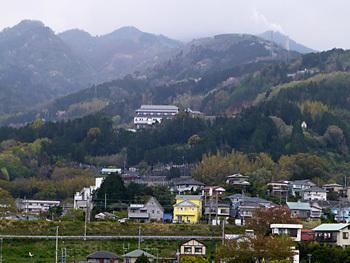 神奈川県・真鶴半島の山々