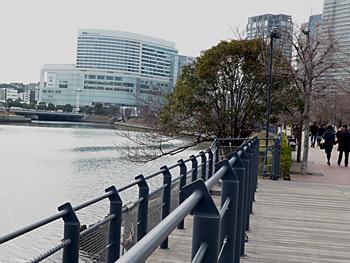 横浜市・みなとみらいの汽車道