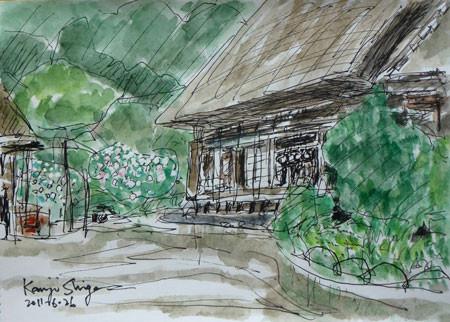 横浜市・舞岡公園の古民家