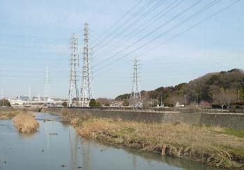 藤沢市・引地川親水公園の鉄塔