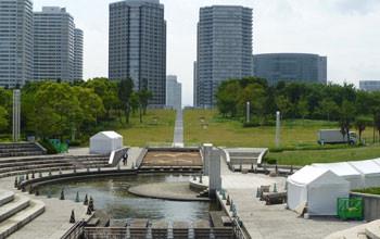 横浜・臨港パークの潮入の池