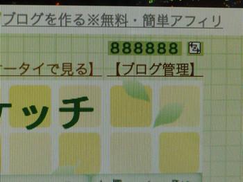 アクセス集88万