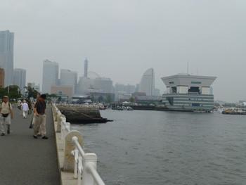 横浜・みなとみらいの中心街