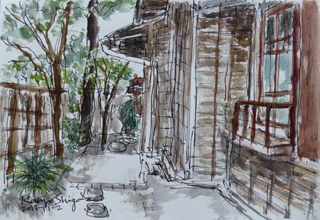 神奈川県・大磯の島崎藤村旧宅