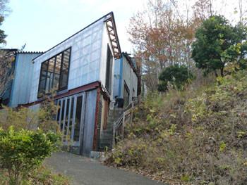 藤沢・大庭神社近くのモダンな建物