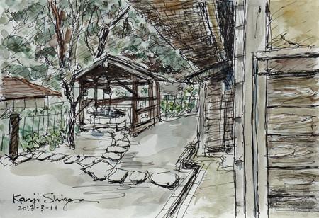 藤沢・新林公園の古民家の井戸