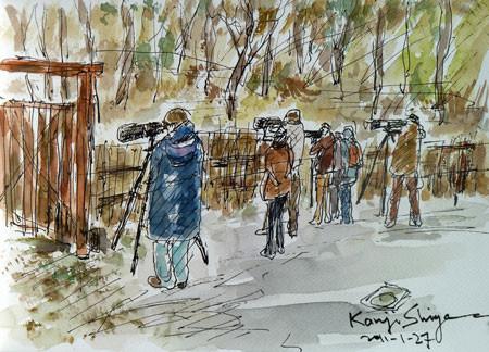 横浜市・舞岡公園の「きざはし谷戸」のカメラマン