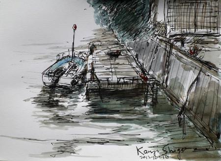 横浜・金沢区幸浦のボート