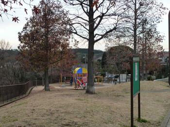 横浜・東俣野中央公園の遊具広場