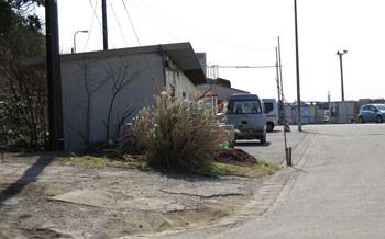 鎌倉・腰越漁港の小屋