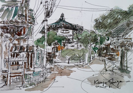 鎌倉の比企谷幼稚園(ひきがやつ)