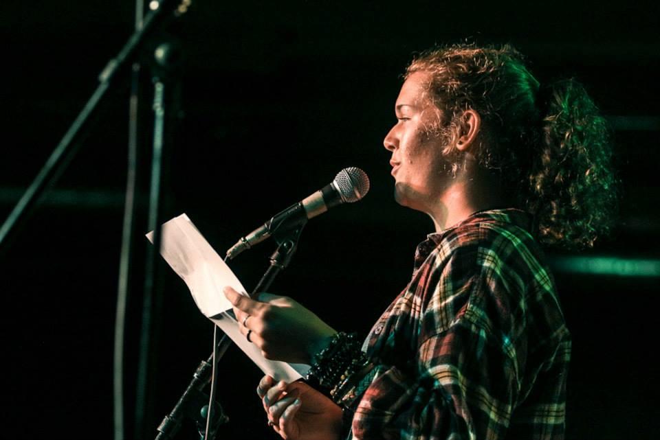 © Pierre Lippuner: Poetry Slam, 2013 [Flon, St. Gallen]