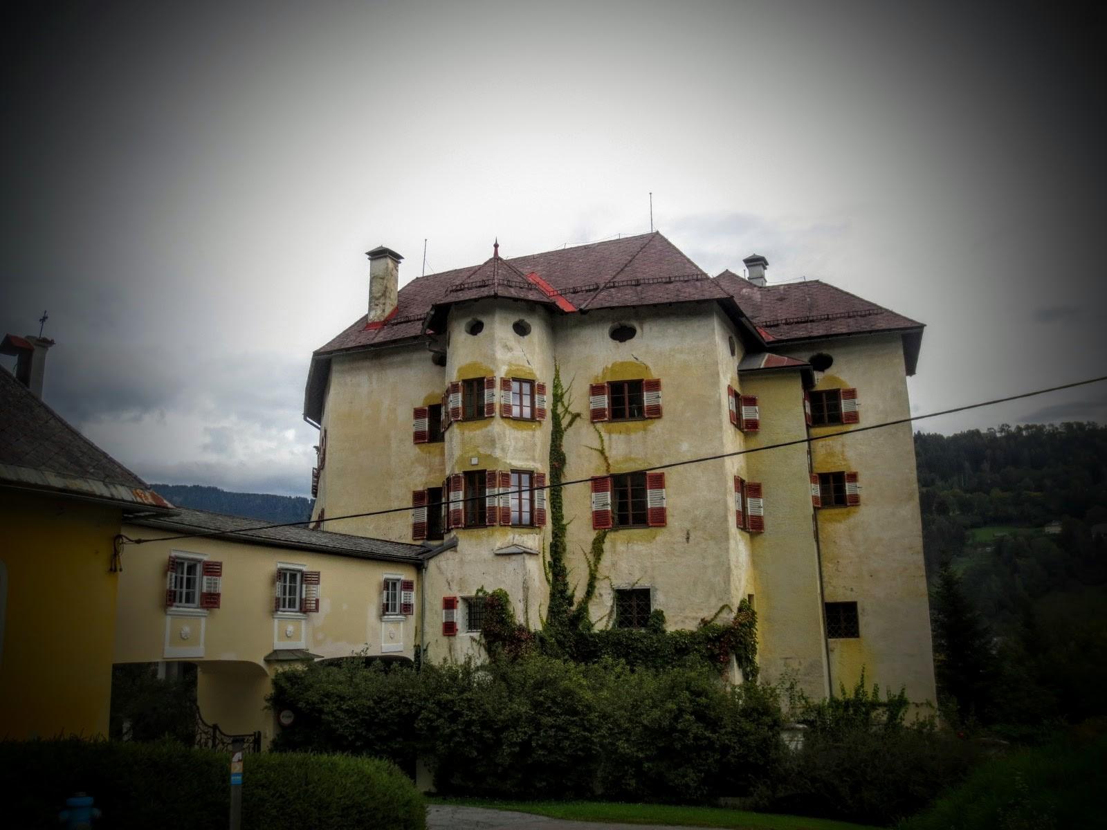 Schloss Biberstein in Himmelberg bei Feldkirchen