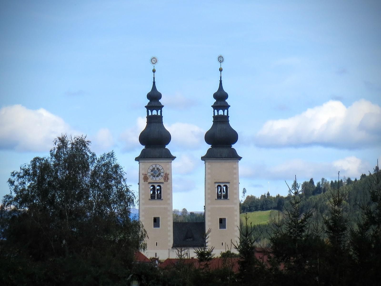 Der von weitem sichtbare, altehrwürdige Dom zu Gurk