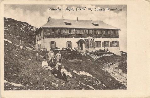 Villacher Alpe, Ludwig Walterhaus um 1910