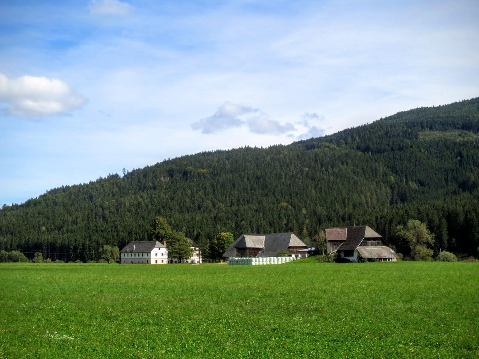 Bauernhof im Gurktal
