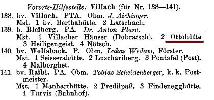 Verzeichnis der Rettungsstellen des DOEAV 1904