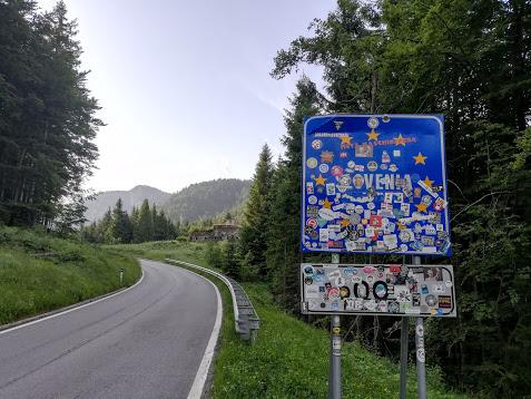 Mangartstraße, Predil, Julische Alpen