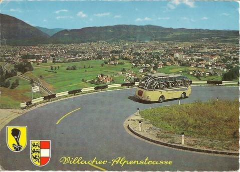 Dobratsch, Villacher Alpe, V 73, Skilifte, Waagtal, Alpenstraße