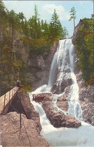 Schlitzaschlucht, Tarvis, Wasserfall