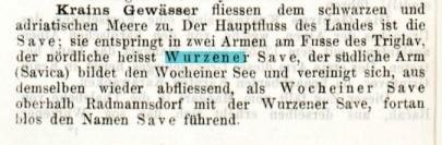 Führer durch Krain, 1885