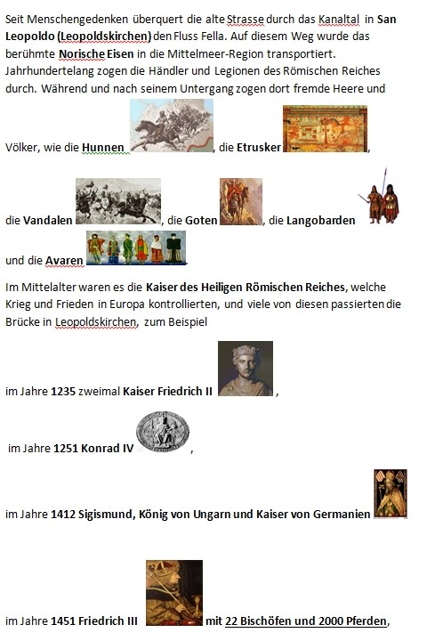 Kanaltal Geschichte