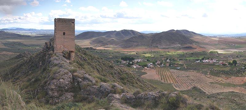 Torre del Castellar. Pedanía de Sierra (Tobarra, Albacete). Fuente: http://listarojapatrimonio.org