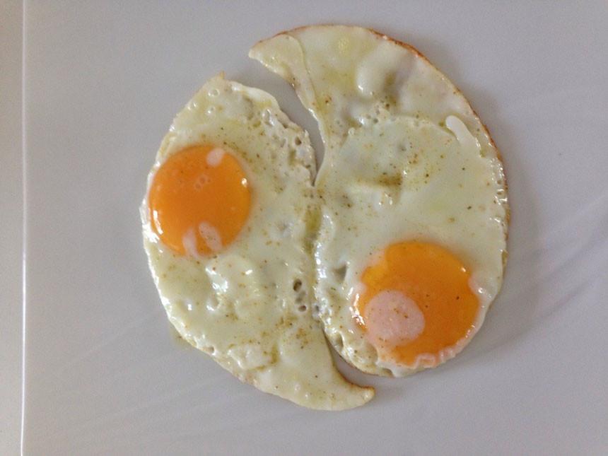 œufs au plat