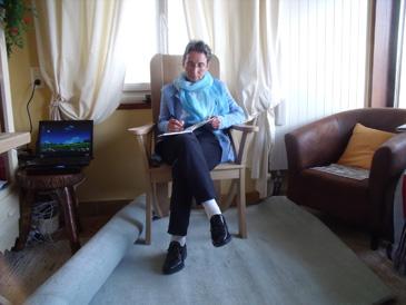 SL Christ dans son fauteuil